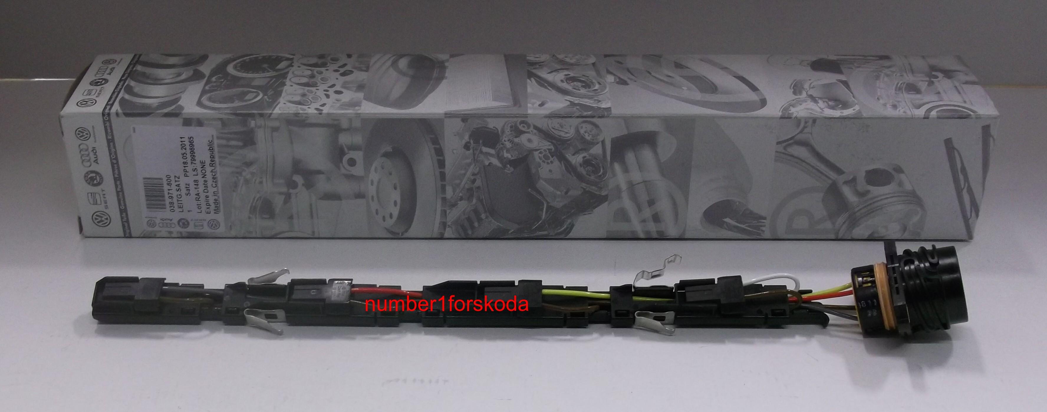 genuine vw volkswagen diesel injector wiring loom 038971600 ebay. Black Bedroom Furniture Sets. Home Design Ideas