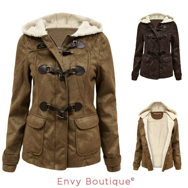 Fur Lined Jackets For Womens