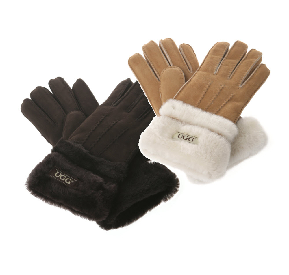Motorcycle gloves double cuff - Image 1