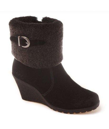 ozwear ugg premium sheepskin wedge boots ebay