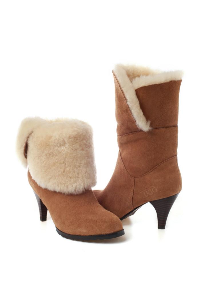 ozwear ugg premium mariee heel boots ebay