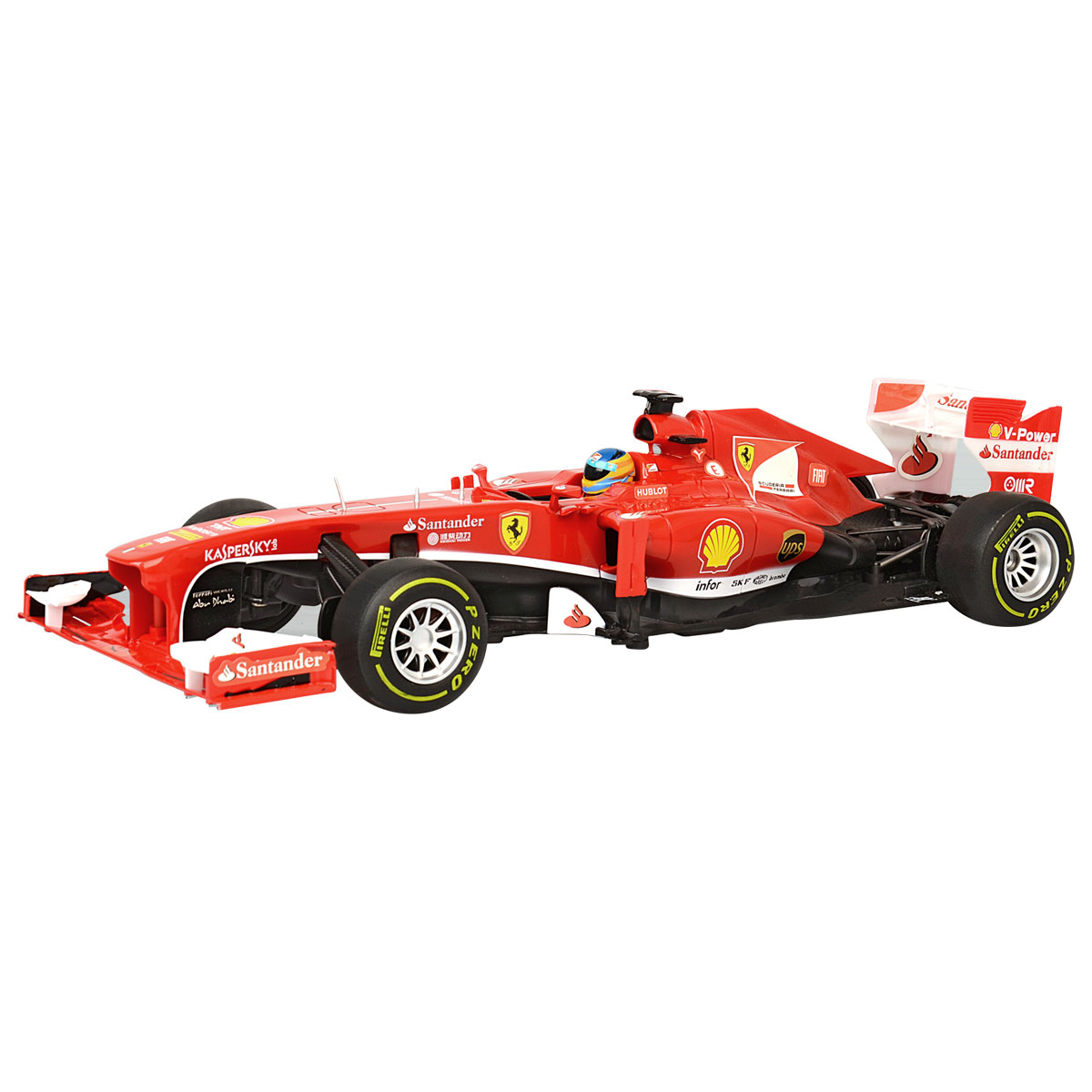 ferrari f1 ferngesteuertes formel 1 modellauto f r kinder ma stab 1 12 rot ebay. Black Bedroom Furniture Sets. Home Design Ideas