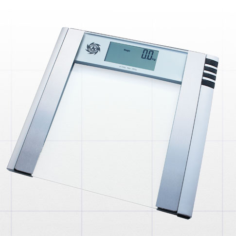 Glass top bathroom scales body fat water muscle scale ebay for Best bathrooms scales
