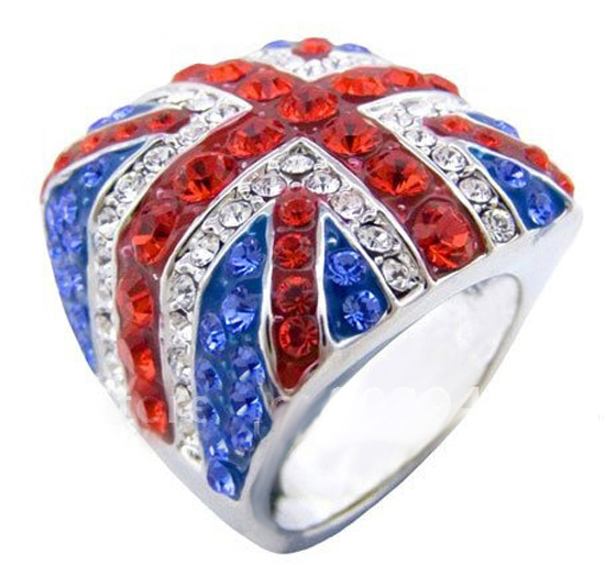 Union Jack Ring (Click to Enlarge)