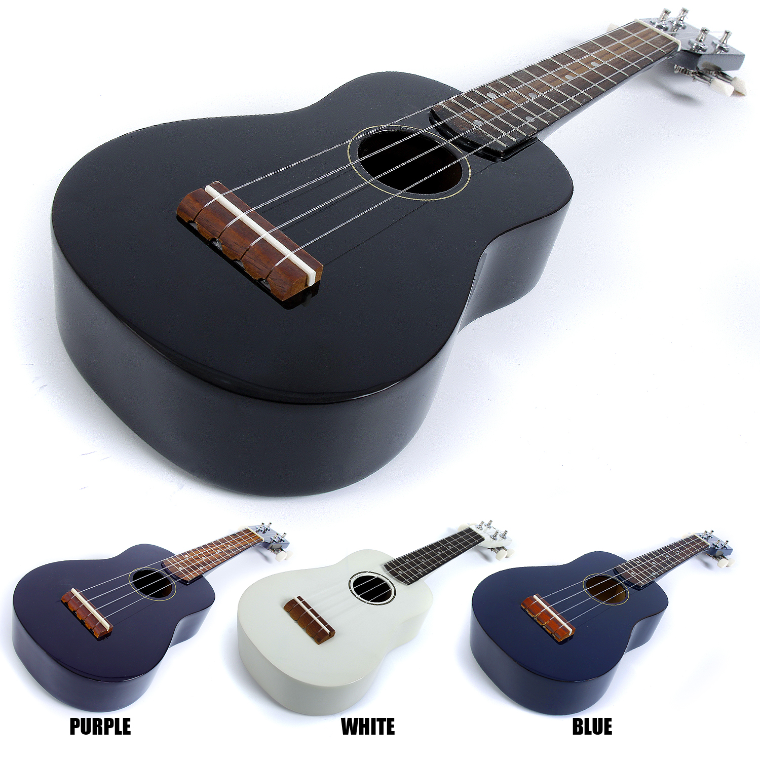 Cosmetic-B-Stock-Malani-Beginners-Soprano-Ukulele-Starter-Pack-4-Colours