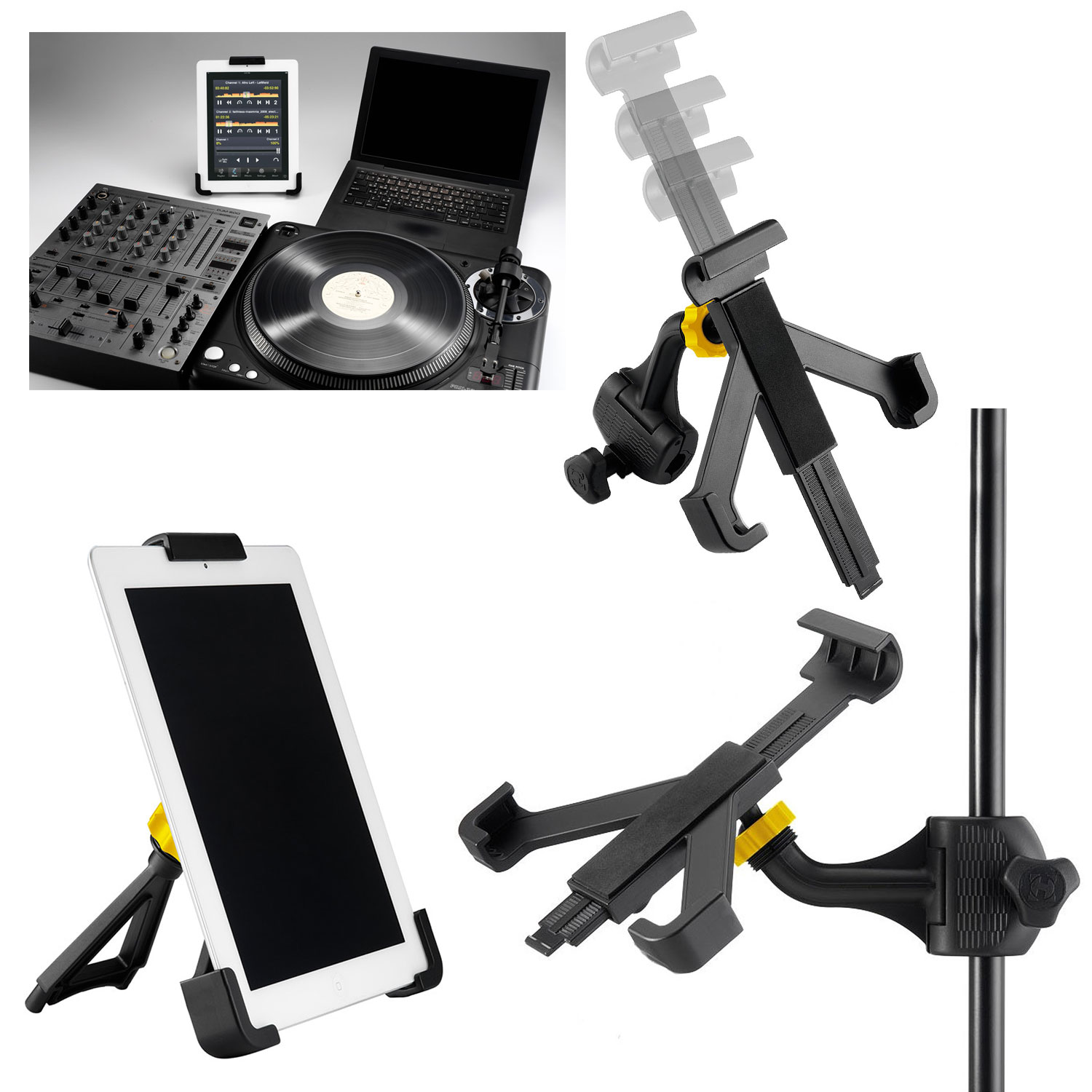 Tablet ipad microphone mic stand holder hercules tab grab - Hercules tablet stand ...