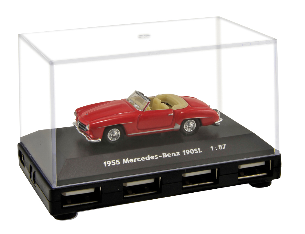 Official Mercedes Benz 190sl Car 4 Port Usb Computer Hub