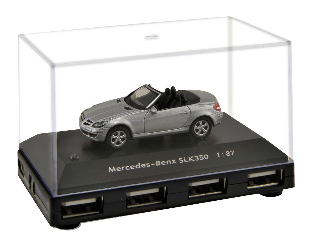 Oficial mercedes benz slk 350 coche 4 puertos usb for Mercedes benz usb