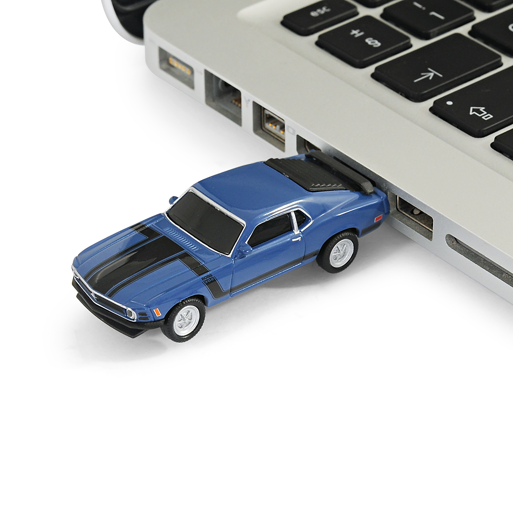 Ford Mustang Boss 302 Car USB Memory Stick Flash Pen Drive