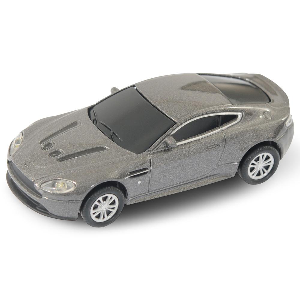 aston martin vantage car usb memory stick 4gb grey ebay. Black Bedroom Furniture Sets. Home Design Ideas