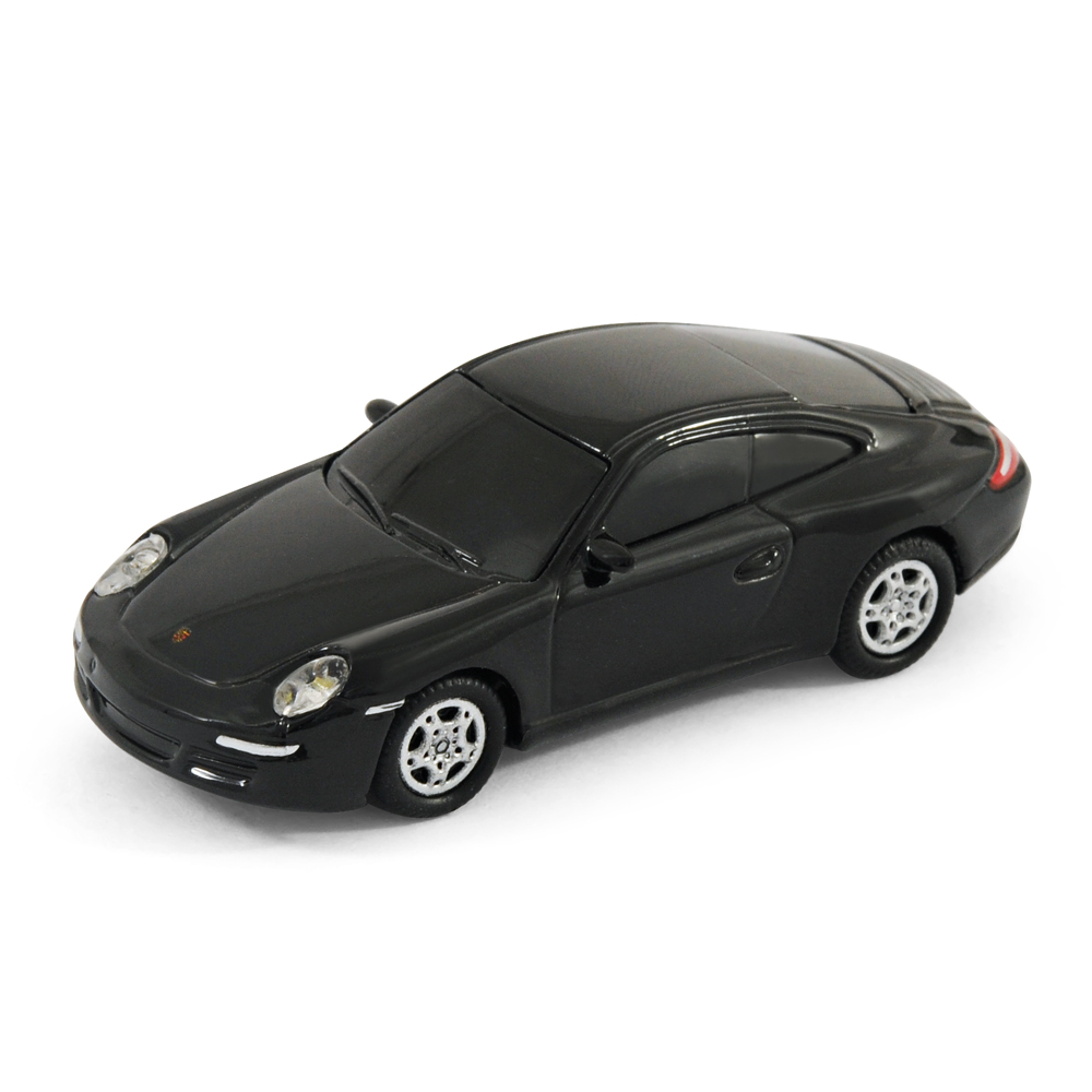 official porsche 911 car usb memory stick 8gb black. Black Bedroom Furniture Sets. Home Design Ideas