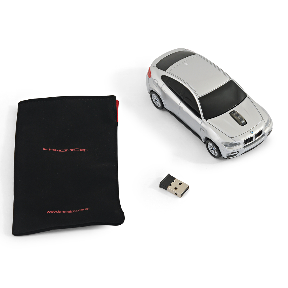 Official Bmw X6 Car Wireless Computer Mouse Silver Ebay