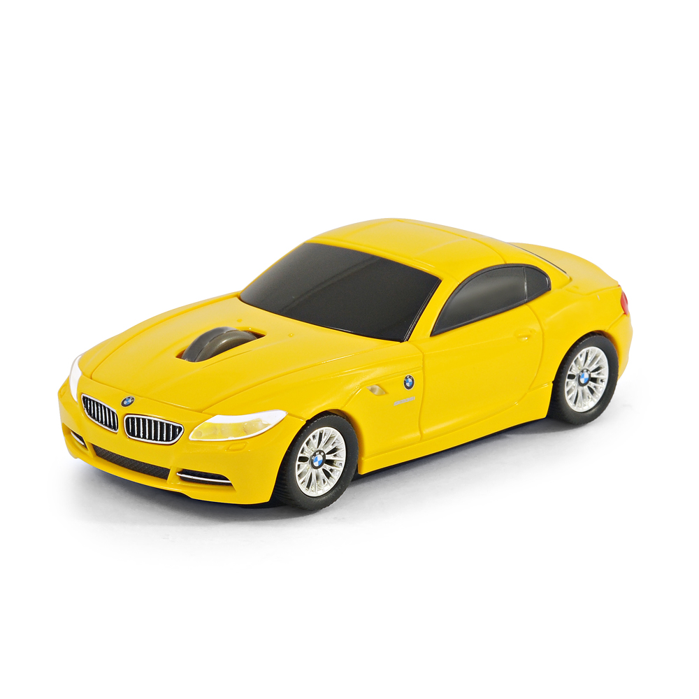 official bmw z4 car wireless computer mouse yellow ebay. Black Bedroom Furniture Sets. Home Design Ideas