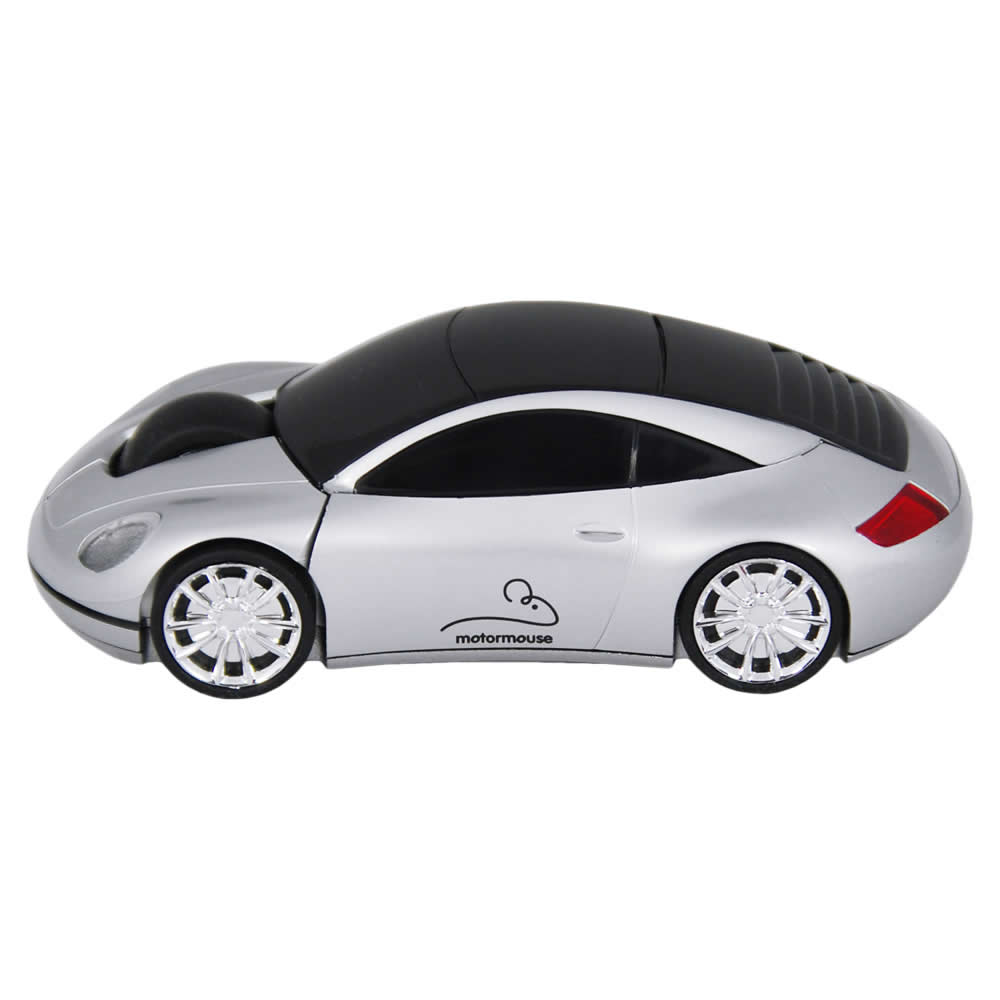motormouse motor car wireless computer mouse silver ebay. Black Bedroom Furniture Sets. Home Design Ideas