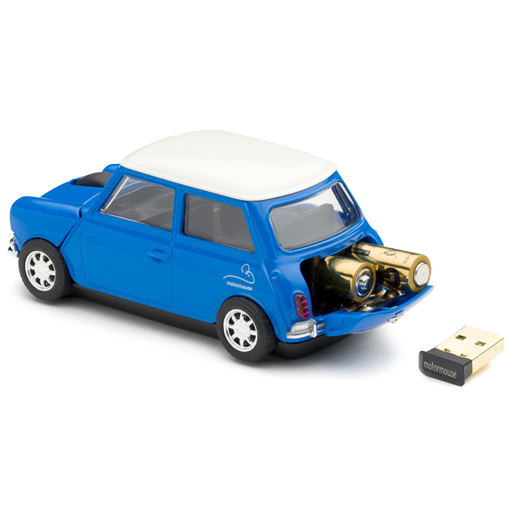 motormouse classic mini cooper car wireless computer mouse. Black Bedroom Furniture Sets. Home Design Ideas