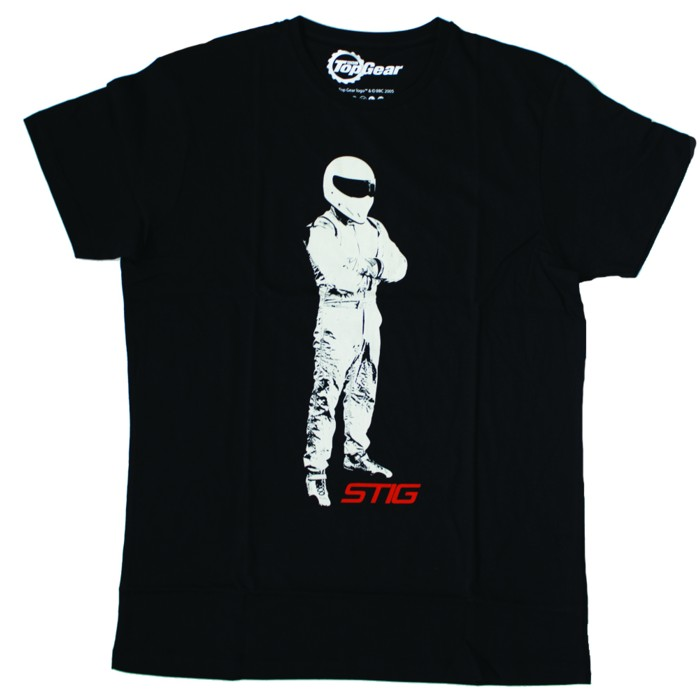 Official Top Gear The Stig Mens T Shirt Black Ebay
