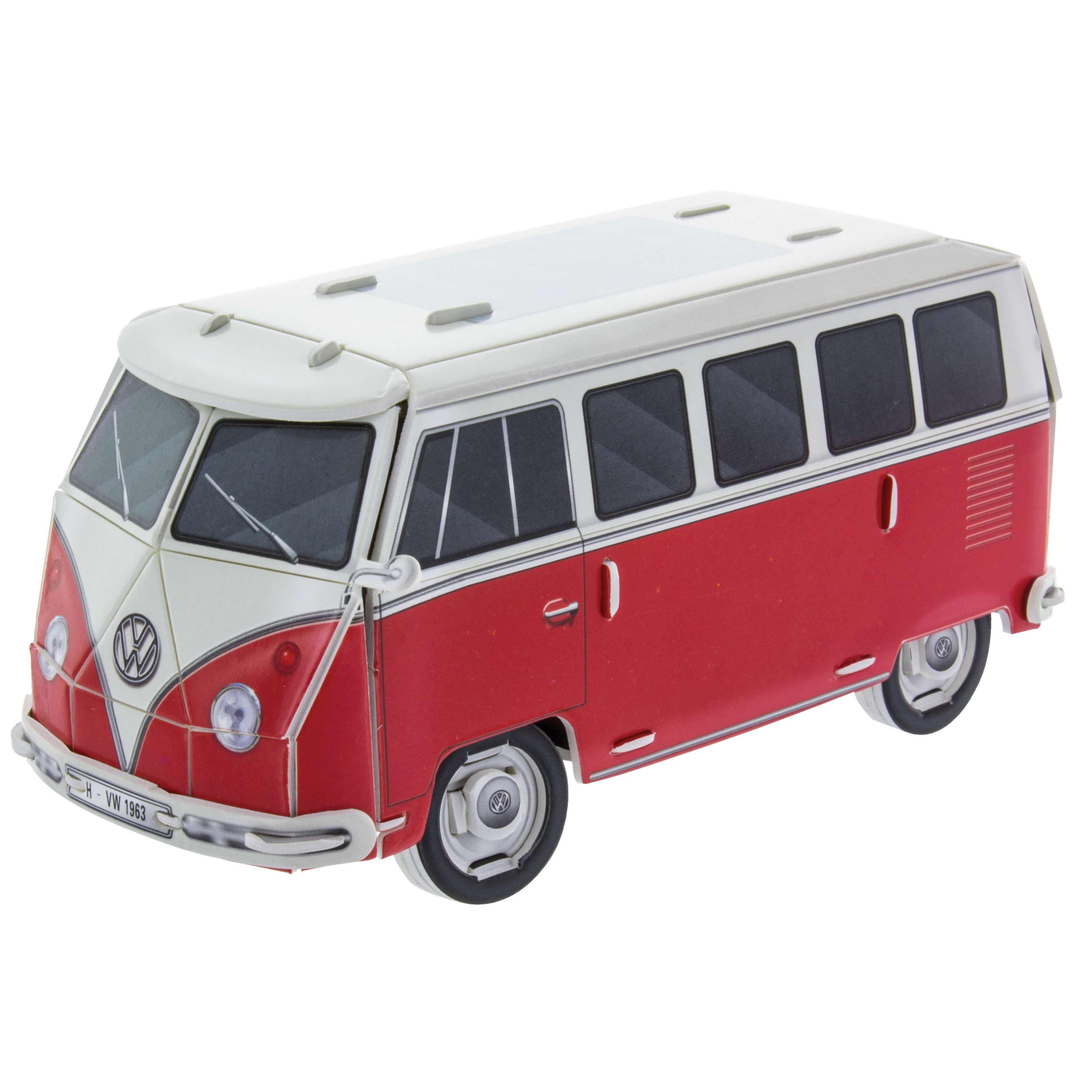 official vw camper van t1 model 39 build your own 39 3d puzzle. Black Bedroom Furniture Sets. Home Design Ideas