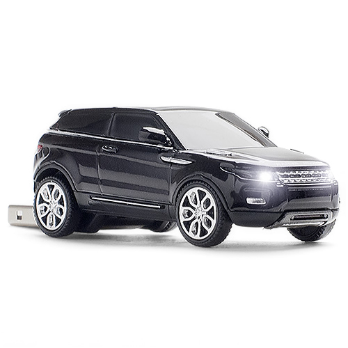 Range Rover Evoque Usb Memory Stick Flash Pen Drive Nero Ebay