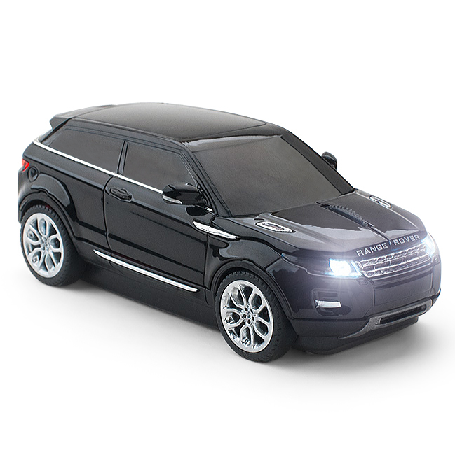 officiel range rover evoque voiture souris d 39 ordinateur sans fil noir ebay. Black Bedroom Furniture Sets. Home Design Ideas