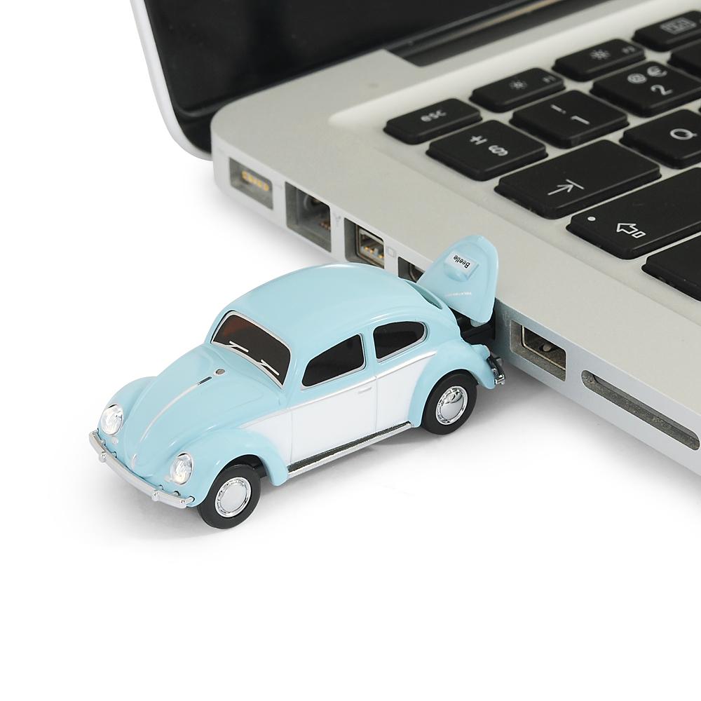 Official Classic VW Beetle Type 1 Car USB Memory Stick 8Gb - Sky Blue | eBay