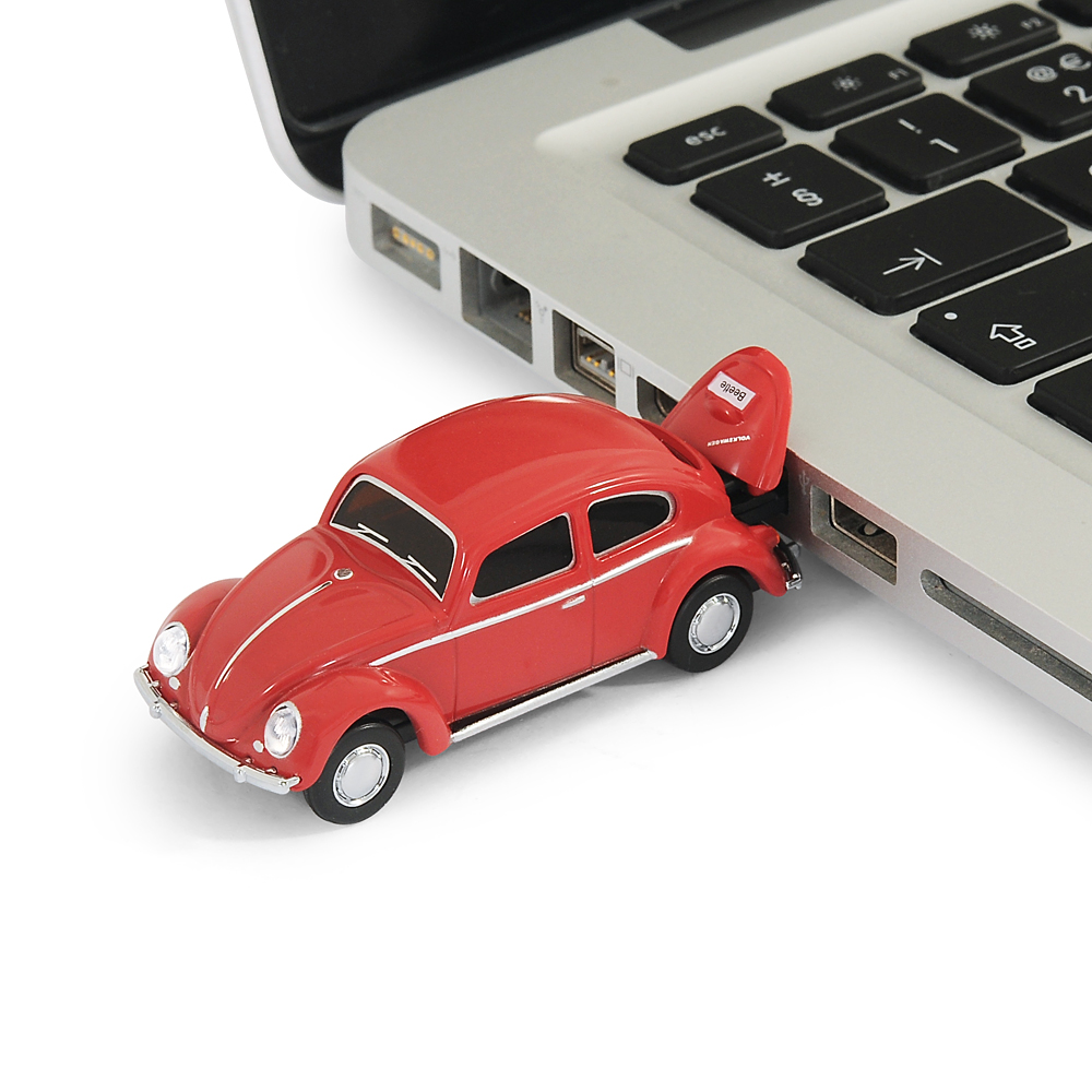 official classic vw beetle car usb memory stick 8gb red. Black Bedroom Furniture Sets. Home Design Ideas