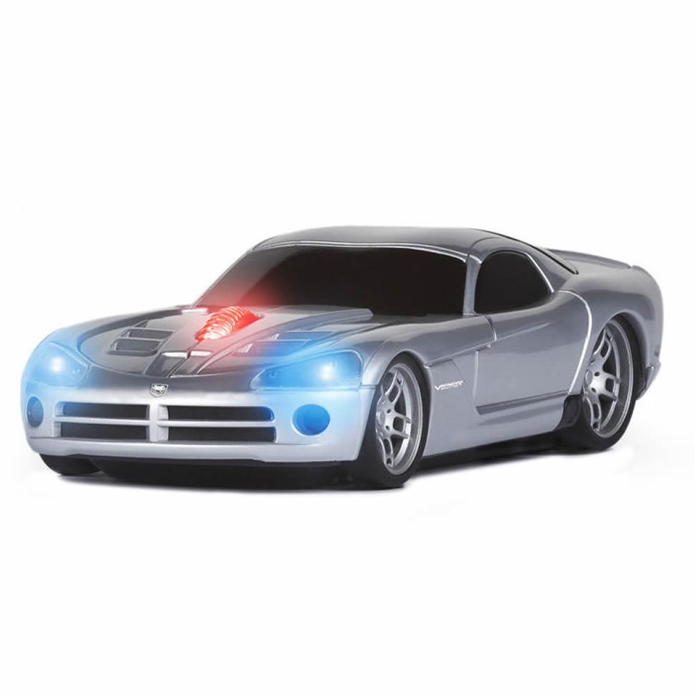 Road Mice Dodge Viper Car Wireless Computer Mouse Silver