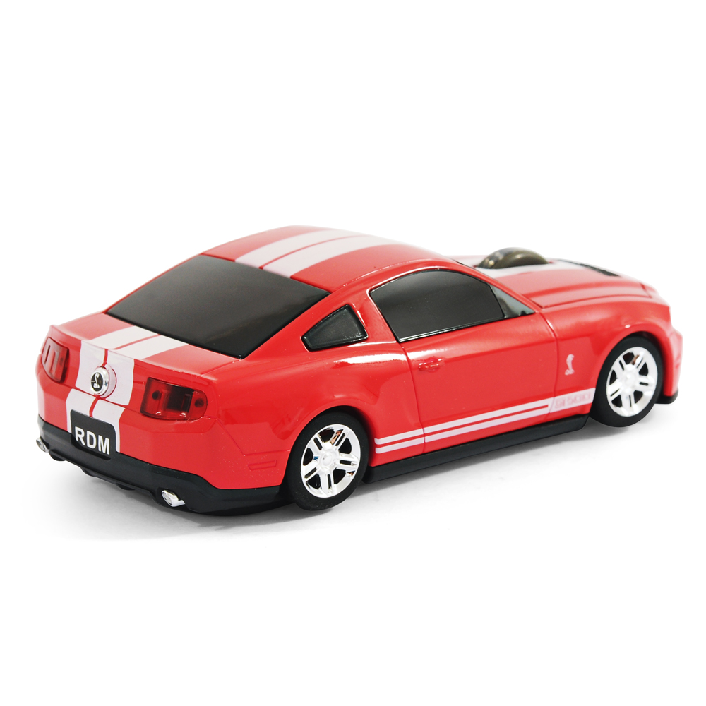 road mice ford mustang shelby gt500 car wireless computer mouse red ebay. Black Bedroom Furniture Sets. Home Design Ideas