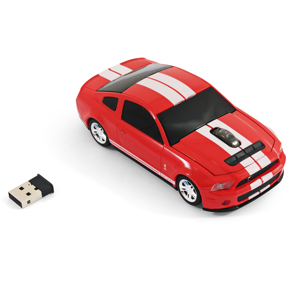 road mice ford mustang shelby gt500 car wireless computer. Black Bedroom Furniture Sets. Home Design Ideas
