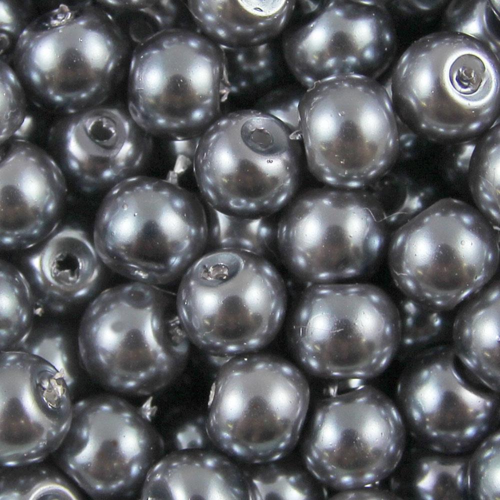 GLASS-PEARL-Round-BEADS-400x4mm-200x6mm-100x8mm-50x10mm-20x12mm