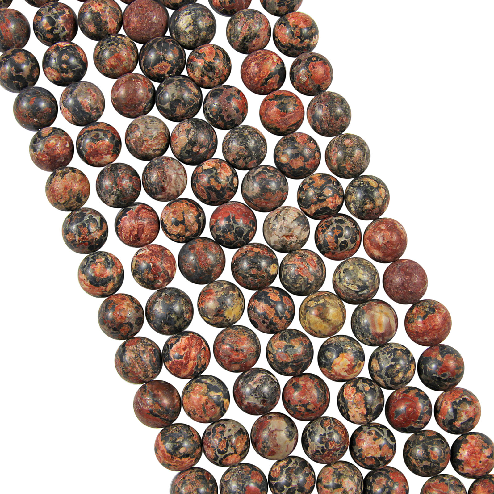 16-Strand-GEMSTONE-Crystal-ROUND-BEADS-6mm-65-Beads