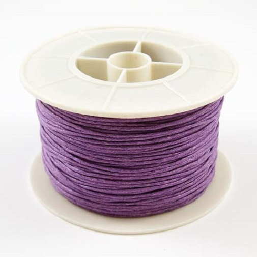 WAXED COTTON CORD REELS - 20 to 90 Metres - 1mm, 1.5mm, 2mm