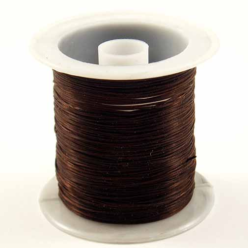 20-Metres-FLAT-STRETCH-ELASTIC-Bead-THREAD-SPOOL-0-8mm