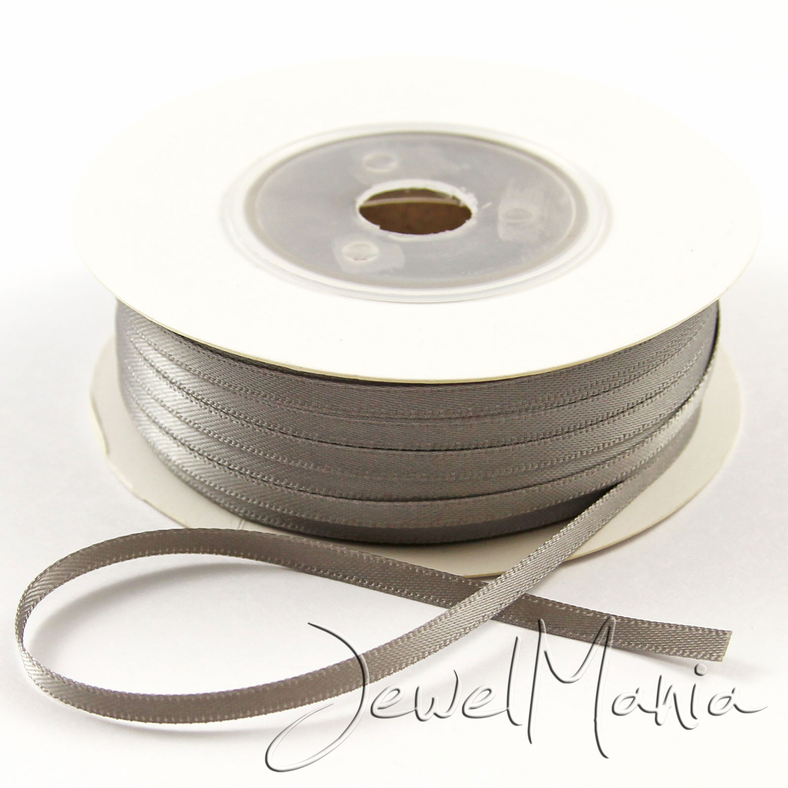 50-Metres-Of-3mm-1-8-034-DOUBLE-FACED-Sided-SATIN-RIBBON-Reel-Many-Colours