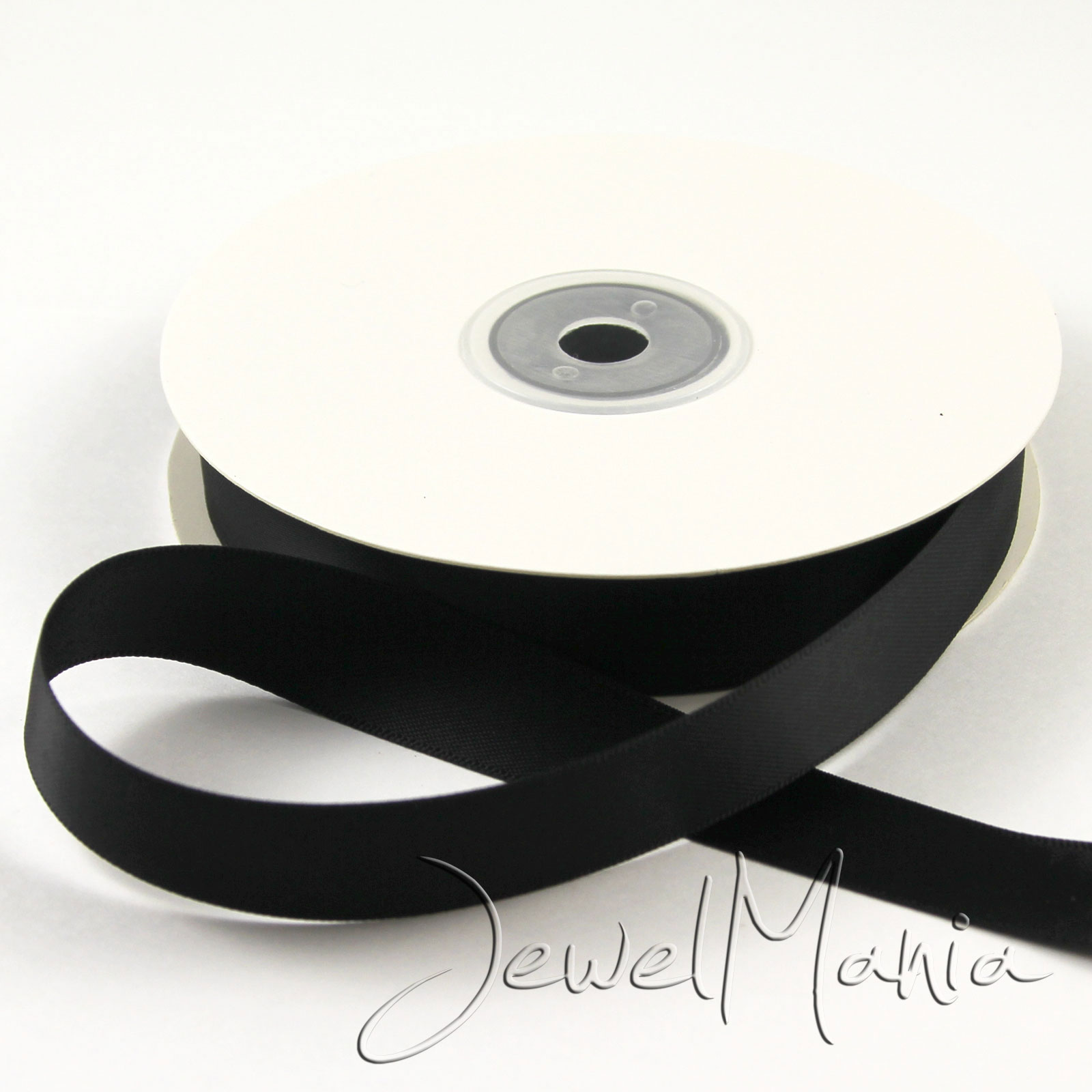 25-Metres-Of-15mm-DOUBLE-FACED-Sided-PREMIUM-SATIN-RIBBON-Rolls-Many-Colours