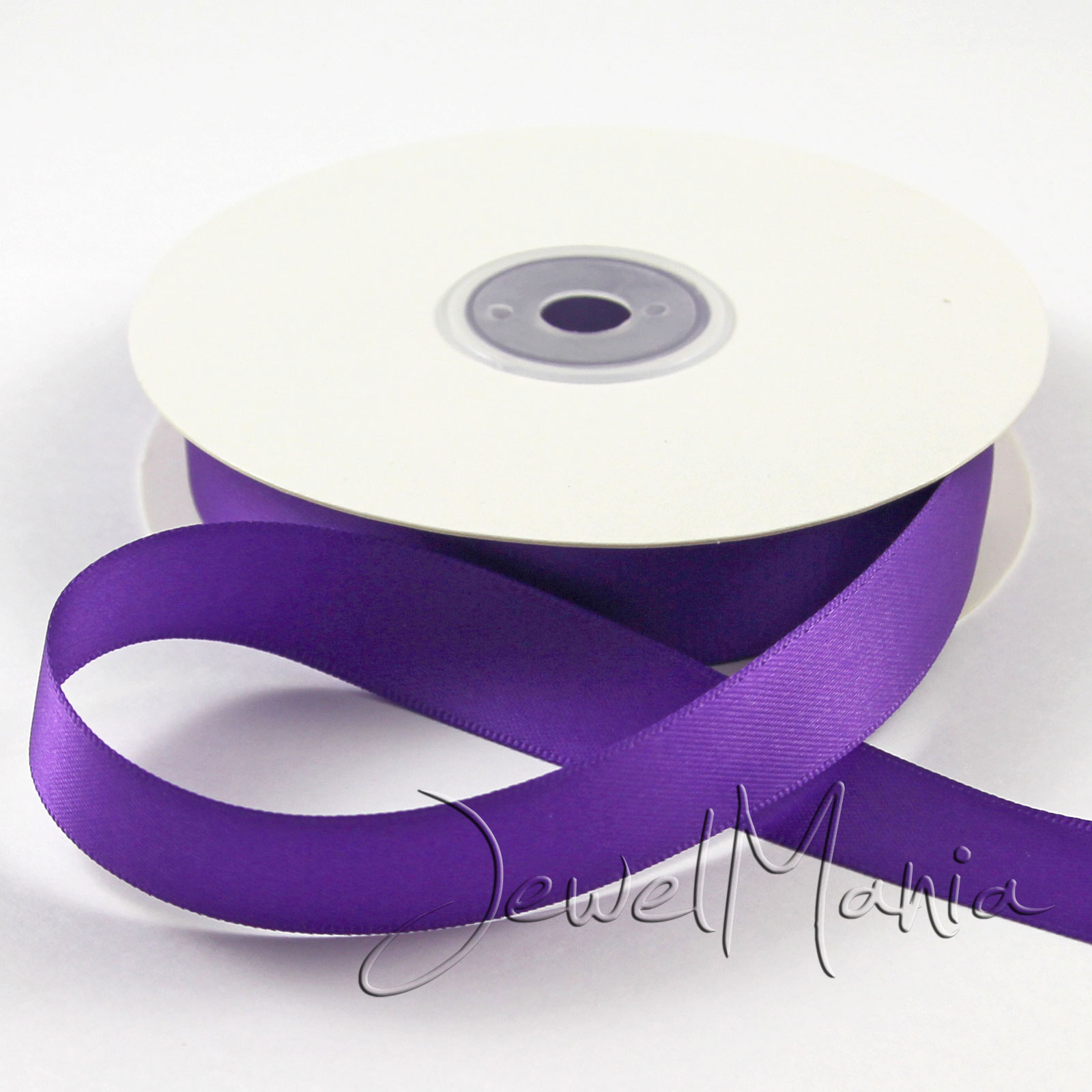 Full-Reel-Satin-Double-Faced-Sided-Ribbon-Roll-25-Metres-10mm-3-8-034-20-Colours