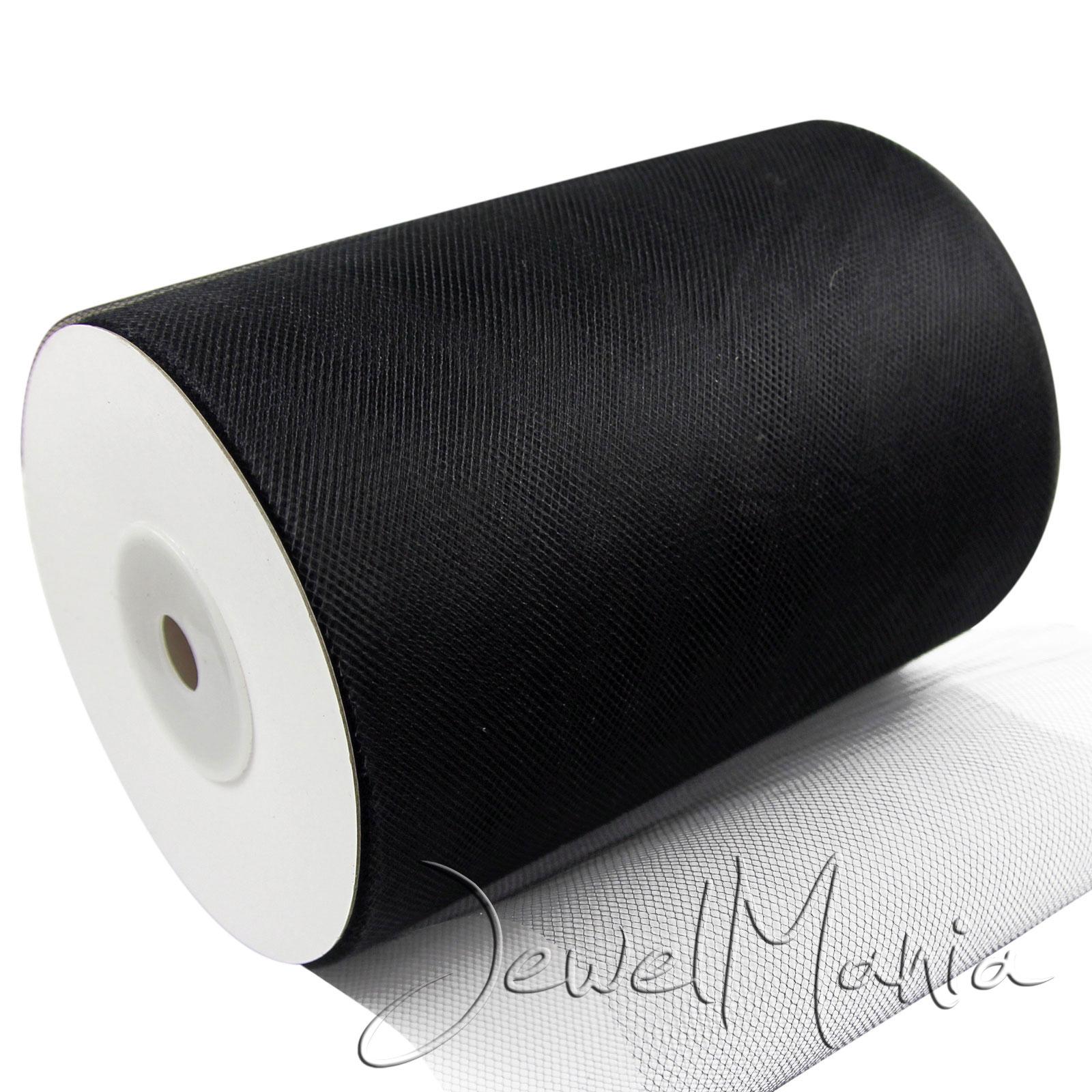 "Tutu TULLE ROLLS 6"" Wide x 25 Yards | Soft Nylon Netting Fabric Crafts Weddings"