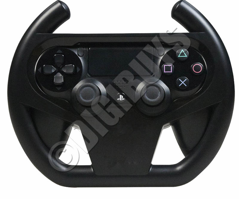 racing steering wheel for playstation 4 ps4 console. Black Bedroom Furniture Sets. Home Design Ideas