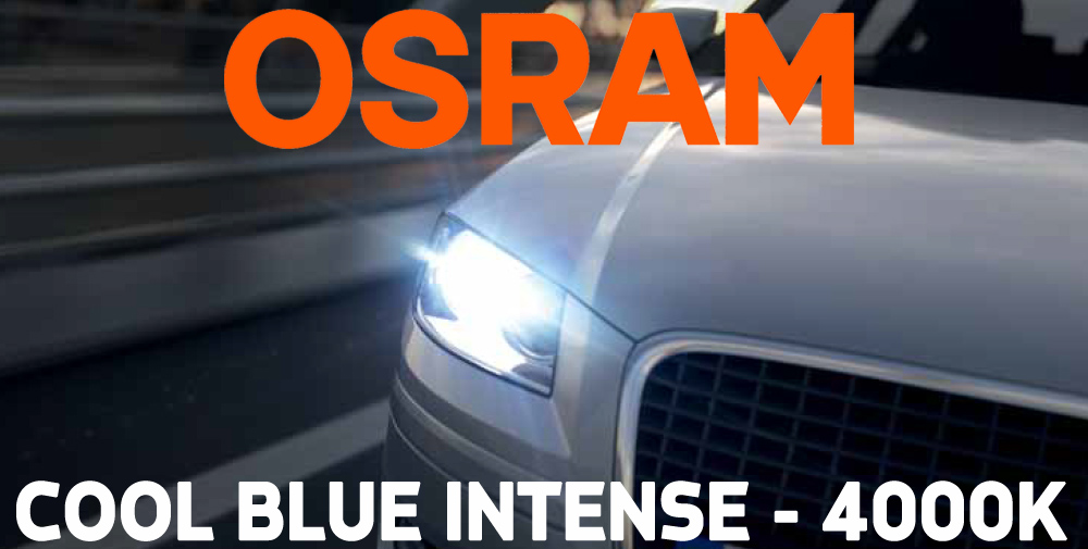 osram cool blue intense h8 styling headlight bulbs 4200k twin pack of bulbs ebay. Black Bedroom Furniture Sets. Home Design Ideas
