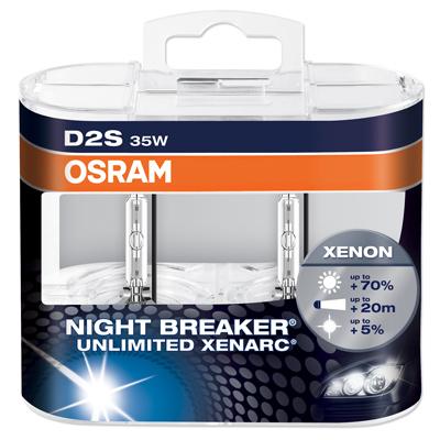 osram xenarc night breaker unlimited 70 more light xenon hid bulbs here ebay. Black Bedroom Furniture Sets. Home Design Ideas