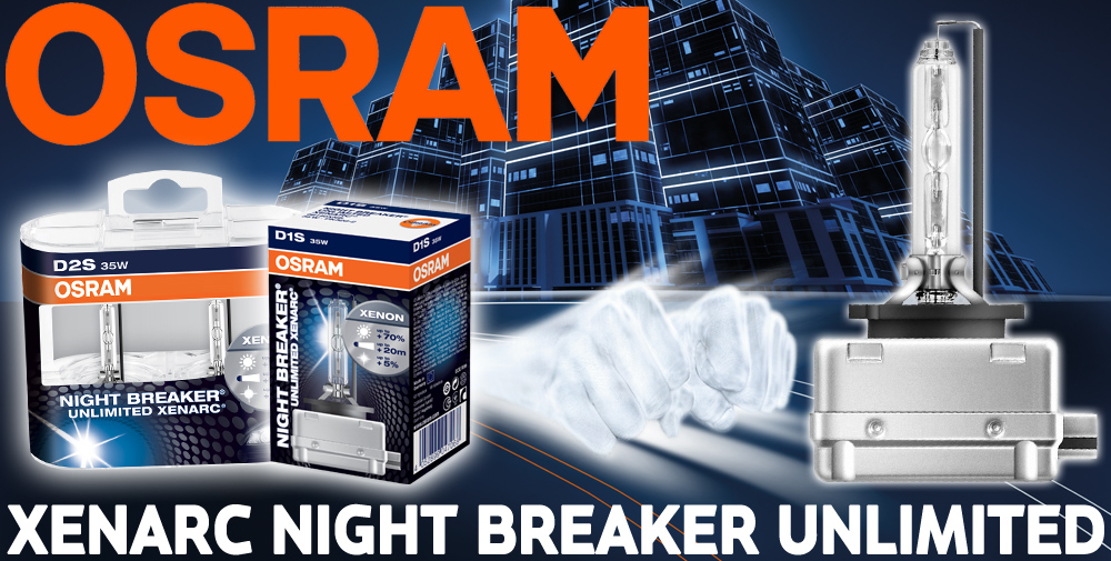osram xenarc night breaker unlimited 70 light d1s xenon. Black Bedroom Furniture Sets. Home Design Ideas