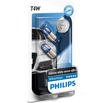 philips whitevision white vision headlight bulbs h1 h3 h4 h7 h8 h11 hb3 hb4 w5w ebay. Black Bedroom Furniture Sets. Home Design Ideas