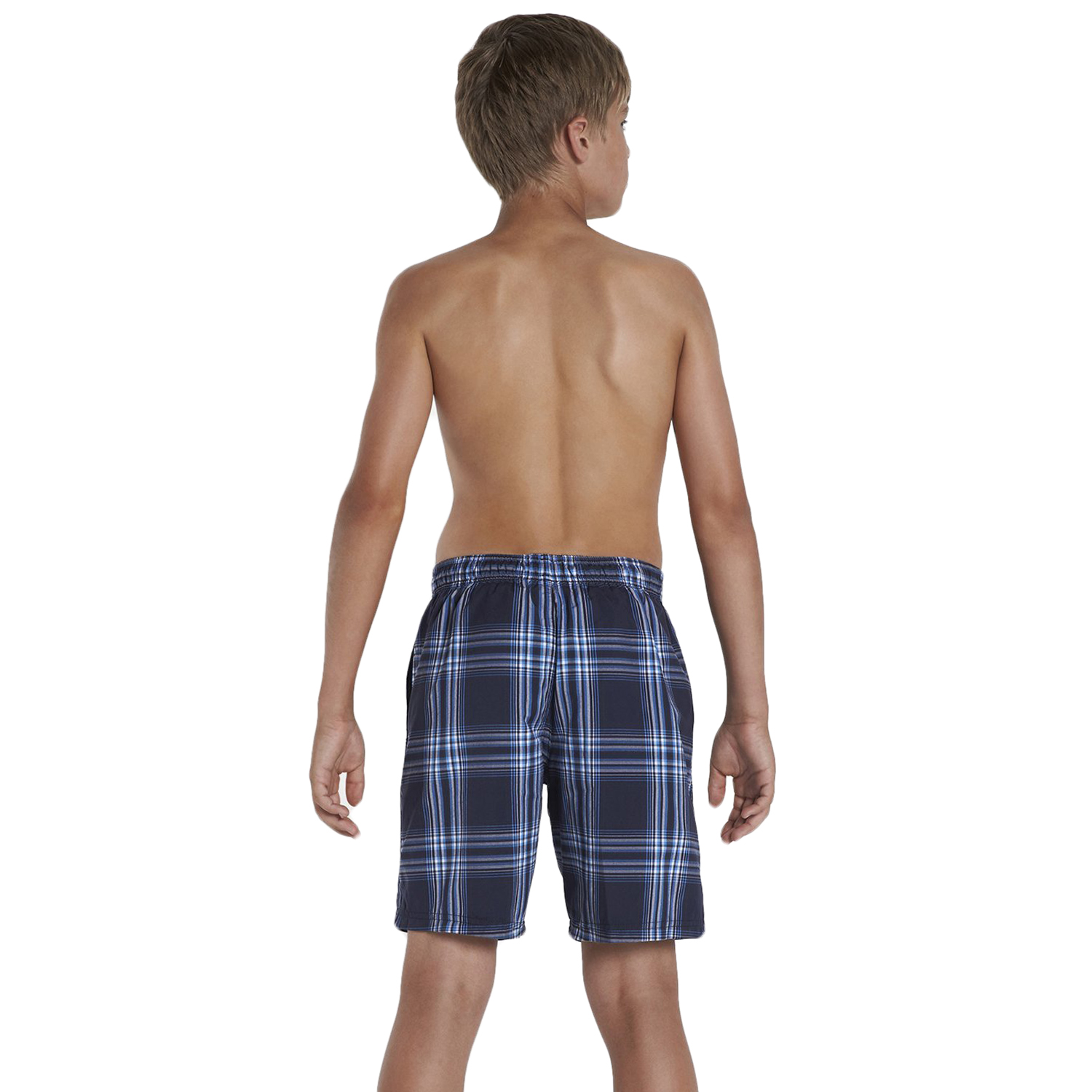 Boys' Swimwear. He'll hit the pool or beach in style with boys swimwear from Kohl's. Whether its boys swim trunks or boardshorts you're looking for, you'll find it in our large assortment of swimwear. For a sporty look, check out our line of boys' Under Armour swim trunks.