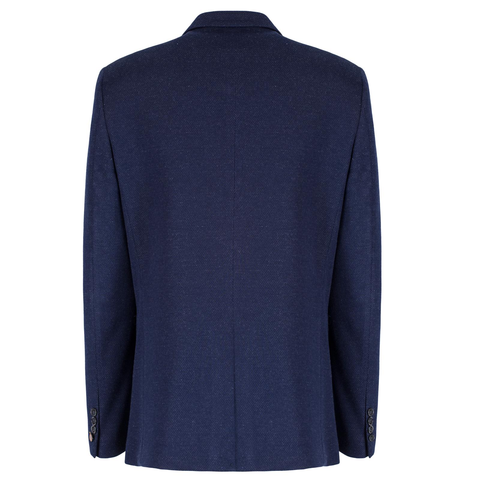 Cavani homme formel blazer homme veste de tailleur en tweed marron bleu coudi res ebay - Blazer homme marron ...