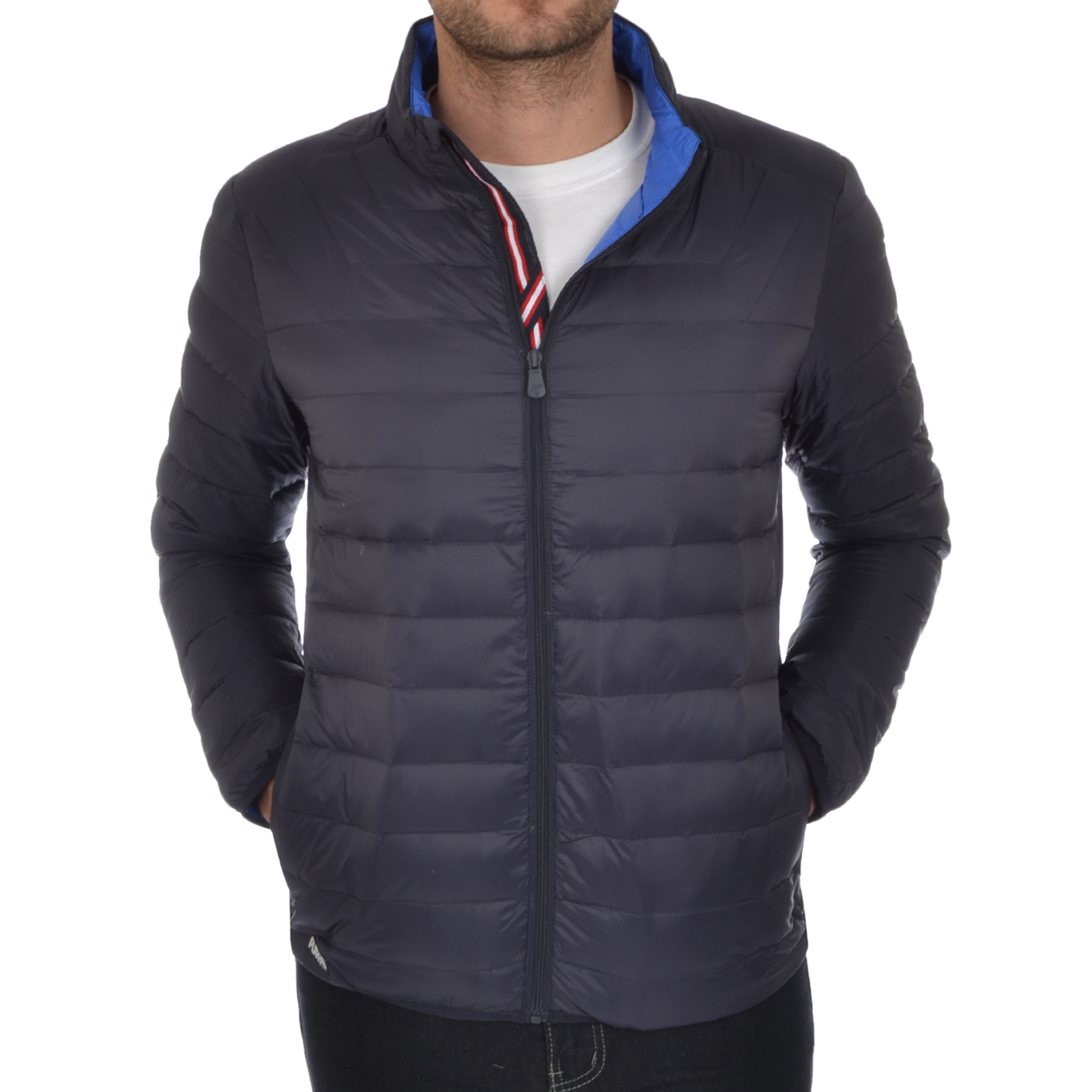 Puffa Mens Lightweight Down Jacket Microlight Padded Bomber Coat ...