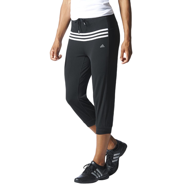 adidas performance womens climacool 3 4 training tracksuit bottoms pants ebay. Black Bedroom Furniture Sets. Home Design Ideas