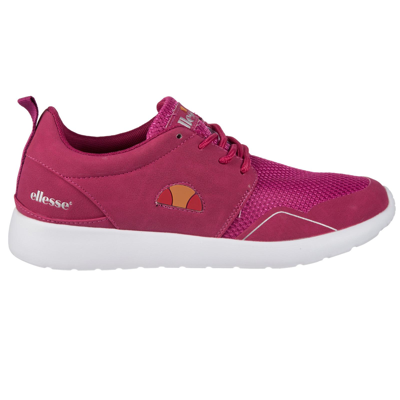 Ellesse Womens Retro Logo Trainers Run Shoes Casual ...