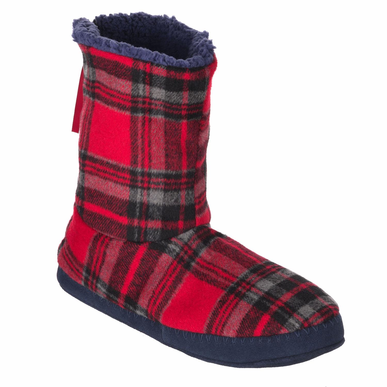 Animal Mens Bollo Slipper Boots Warm Fleece Slippers Comfy Ankle Boot EBay