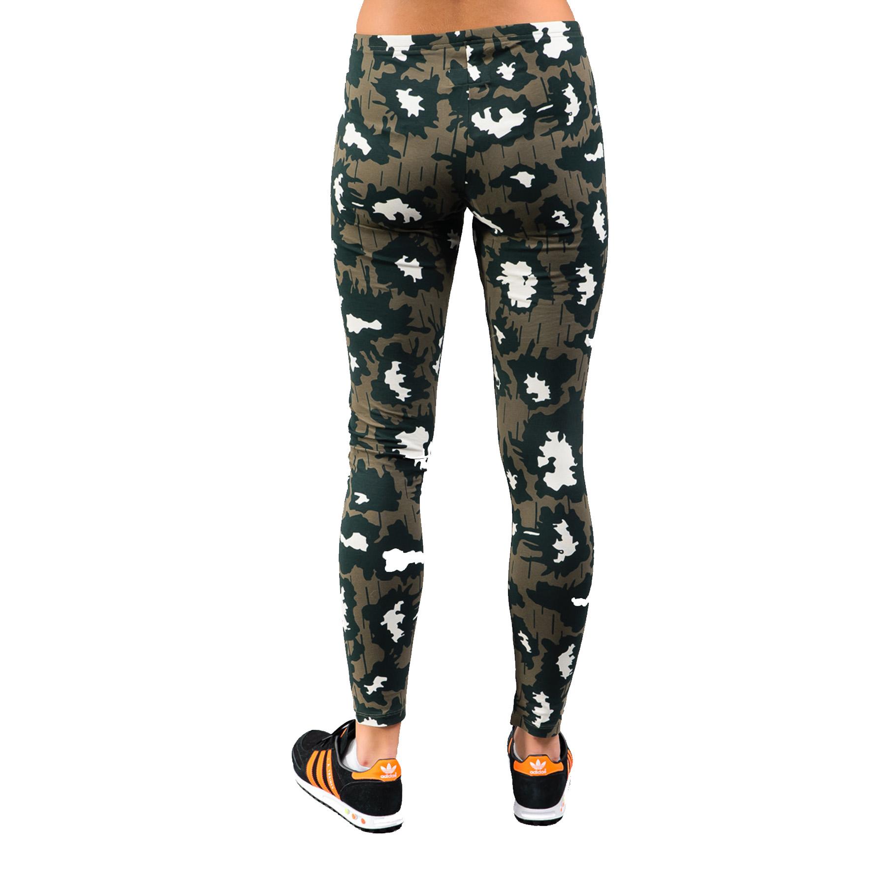 Wonderful Adidas Leaf Camo Leggings  Womens Pants From PacSun
