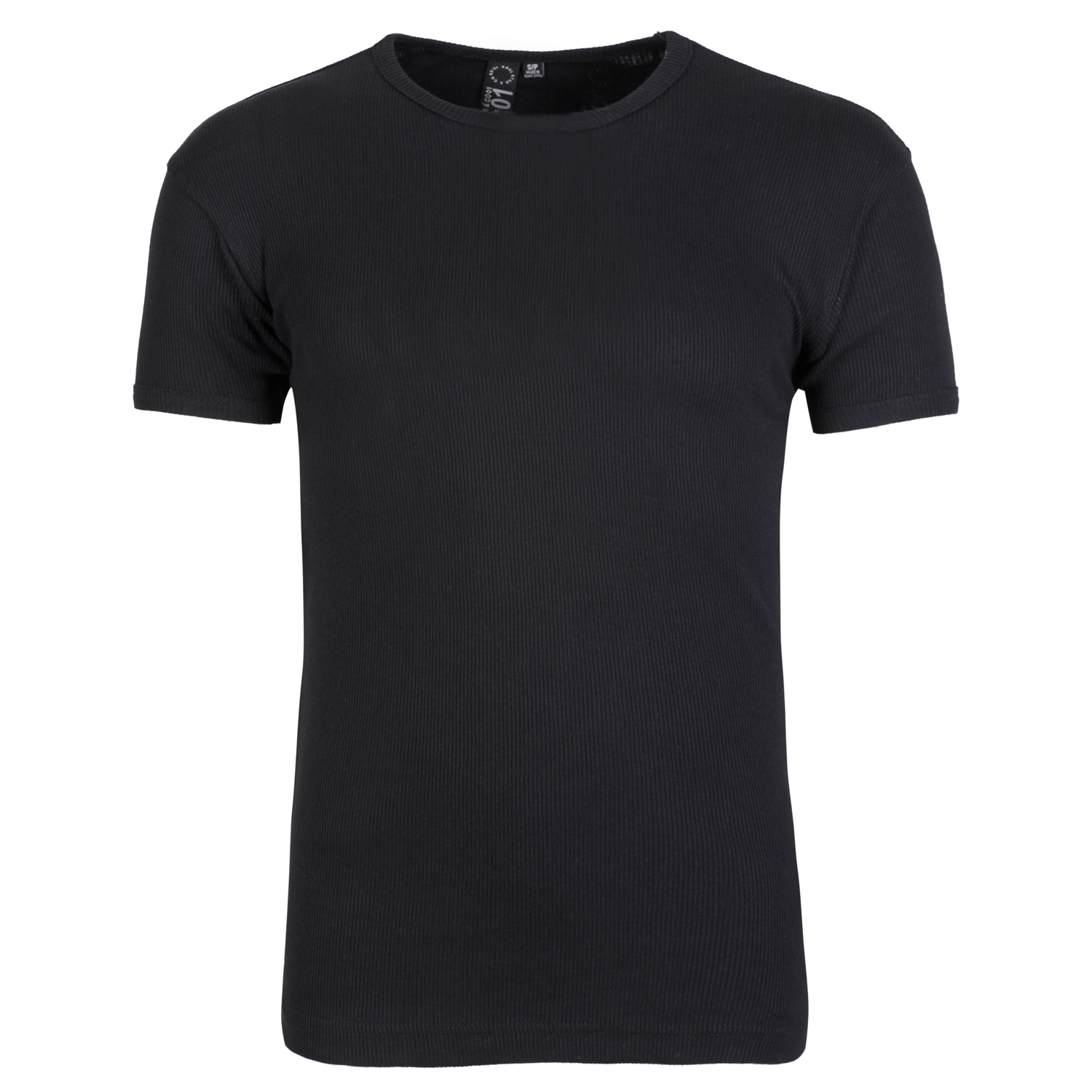 Soul star mens ribbed crew neck t shirt short sleeve tee for Mens ribbed t shirts