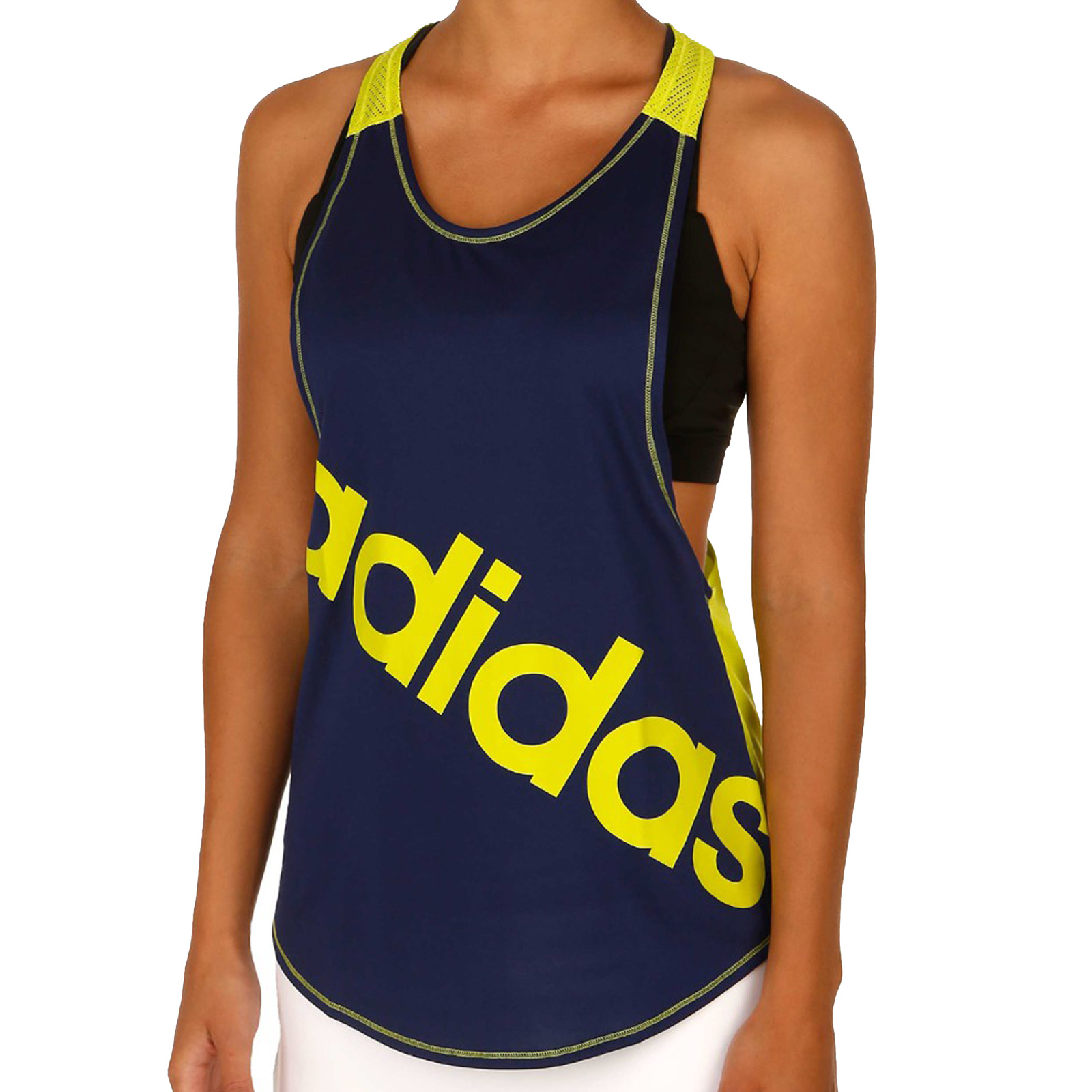 Adidas Performance Womens Dance Racerback Tank Top Logo